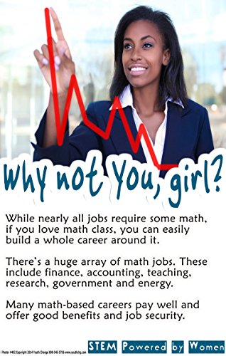 Poster #402 STEM Classroom Poster Motivates Girls to Care About Math, Part of Series