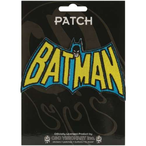 C&D Visionary Application Batman Cape Logo Patch