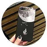Funda de teléfono pintado para iPhone 7 8 X 6 6S Plus mate Paisaje moda PC caso para iPhone 8 Plus Fundas, tipo 2, para iPhone 6 6S