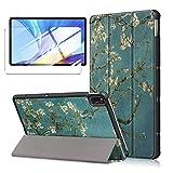 LJSM Hülle + Schutzfolie für Samsung Galaxy Tab A7 2020