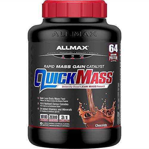 ALLMAX Nutrition - QUICKMASS - Weight Gainer & Rapid Gain Catalyst, Chocolate, 6 Pound, 6 Lb