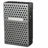(ロキリフ) BOX シガレット ケース (箱用 灰色 アルミ)(1箱 メンズ タバコ 煙草 たばこ)