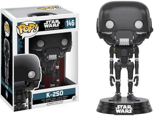 Funko K-2SO Figura de Vinilo, coleccion de Pop, seria Star Wars Rogue One (10454)