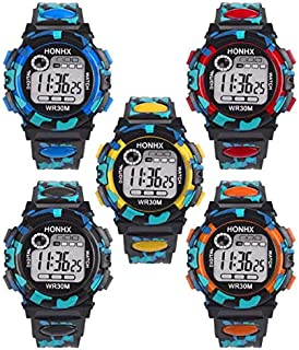 MLZ GIGS Kid's Teen's Digital LED Water Resistant Watch....