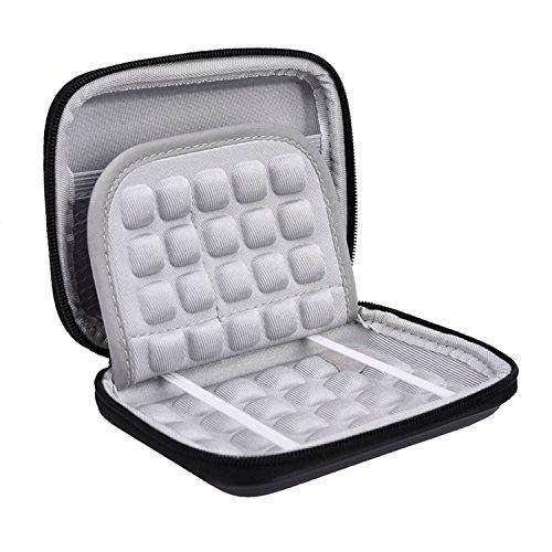 Festplattentasche Festplatte Schutzhülle Hardcase für Seagate Expansion and Backup, und WD Mein Pass Ultra 2,5 Zoll tragbare Externe Gerät