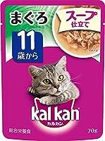 (まとめ買い)カルカン パウチ KWD92 スープ仕立て 11歳から まぐろ 70g 【×40】