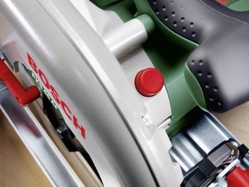 Bosch DIY Kreissäge PKS 66 AF, 1 Hartmetallsägeblatt Speedline Wood, Parallelanschlag, Führungsschiene, Karton (1600 W, Schnitttiefenbereich bei 90° 0-66 mm, Kreissägeblatt Nenn-Ø 190 mm) - 3