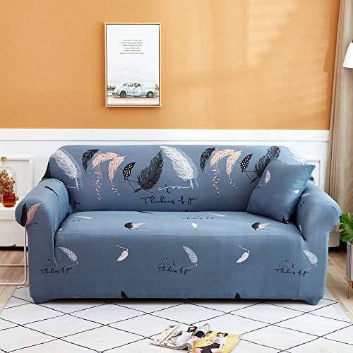 Funda Elástica de Sofá 1 Plaza, Fundas de sofá de Esquina Fundas de sofá universales para Sala de Estar, Funda de sofá elástica, Funda de sofá de Esquina de Toalla, 90-140 cm B