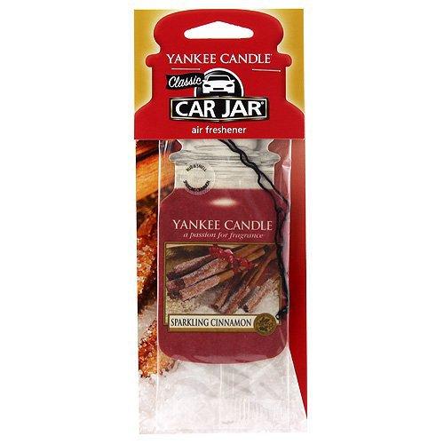 YANKEE CANDLE 1126386E Sparkling Cinnamon Car Jar
