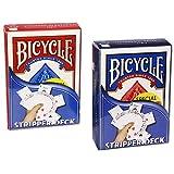 Le jeu biseauté Rouge (Bicycle) - Tour...