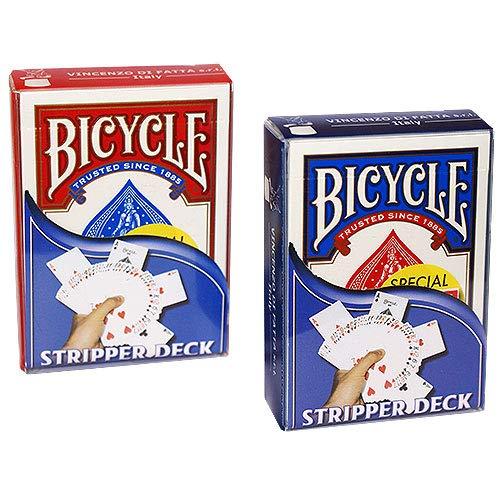 Le jeu biseauté Rouge (Bicycle) - Tour de Magie
