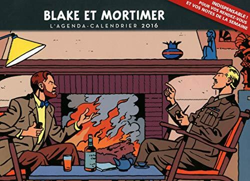 L'agenda-Calendrier 2016 Blake et Mortimer