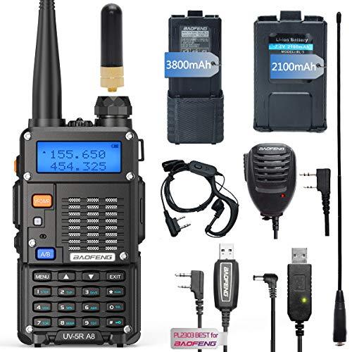 Airiton x Baofeng UV-5R A8 Dual Band Two Way Radio