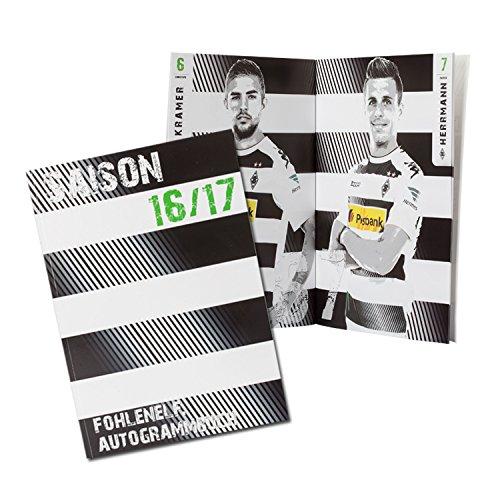 Borussia Mönchengladbach BMG Autogrammbuch gratis Sticker Mönchengladbach Forever, Autogrammsammler + gratis Aufkleber - Autogramm/Autogrammkarten/Karten