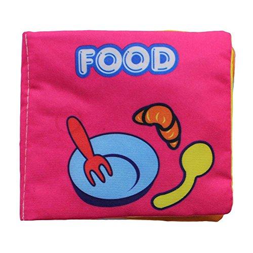 VANKER Enfant Bébé Livre développement de l'intelligence du jouet d'apprentissage cognize des Nourriture