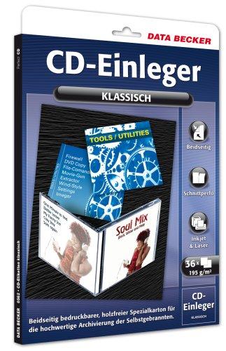 Data Becker CD-Einleger klassisch