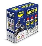 WD-40 Specialist Moto • Kit Entretien Moto • un Nettoyant Chaîne • un Lubrifiant Chaîne •...