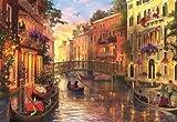 Educa Borras - Genuine Puzzles, Puzzle 1.500 piezas, Atardecer en Venecia (17124)