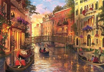 Puzle atardecer en Venecia de 1500 piezas de Educa