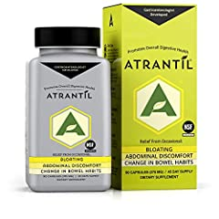 Do YOU BLOAT AFTER EATING CERTAIN FOODS? If yes, then you should try Atrantil TARGETED TREATMENT - Atrantil targets the small bowel to provide relief where it is needed. Where digestive issues begin GASTROENTEROLOGIST INNOVATION - Atrantil was develo...