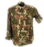 Fratelli ditalia Camicia Casacca Militare croata Mimetica Cotone Uomo Slim