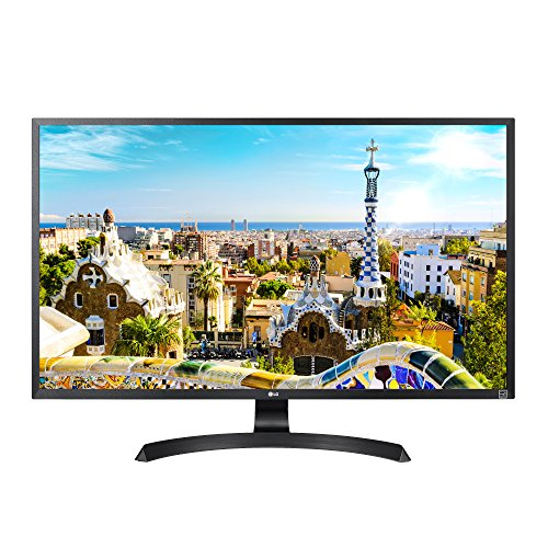 LG 32UD60-B 4K UHD Monitor with AMD FreeSync, Black