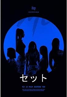 ITZY - IT'Z ME (2nd ミニアルバム ) 3アルバム +3 丸めてポスター [SET ver.]...