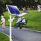GSDFGS 4 stücke LED Road Lampe 50W LED Straßenlicht Solar Outdoor Licht wasserdichte IP65 Scheinwerfer Gartenlampen