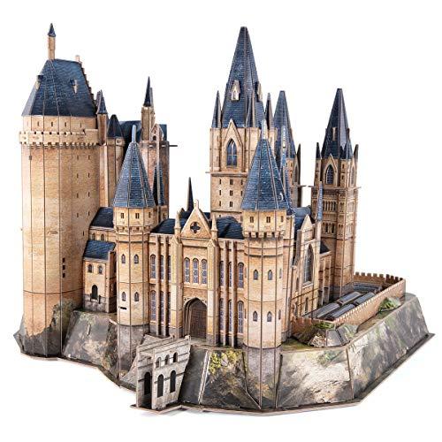 World Brands - Puzzle 3D Harry Potter, Torre de Astronomía Hogwarts, Puzzles 3D, Maquetas para Construir Adultos, Regalos Divertidos, Regalo para Niños, Decoracion Habitacion, 243 Piezas