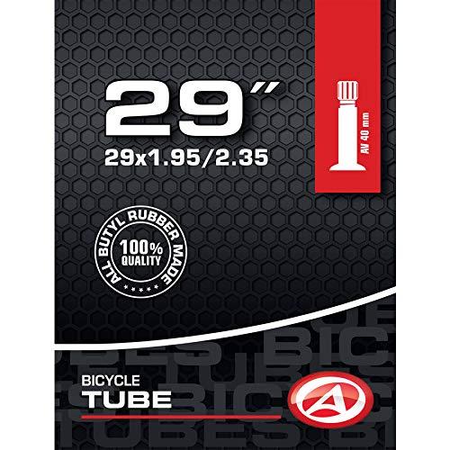 AUTHOR Fahrrad Schlauch Butyl 29 Zoll AV Autoventil 40mm 50/58-622 MTB ATB