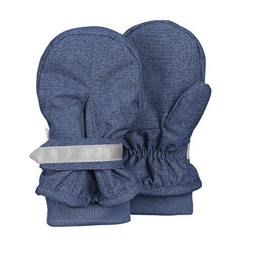 Sterntaler Baby-Jungen Fäustel Handschuhe, Blau, 1