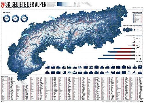 609 Skigebiete der Alpen: Edition 5