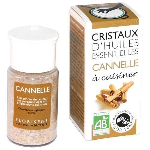 Les Encens du Monde - Cristaux d'huiles essentielles cannelle bio - 10 g