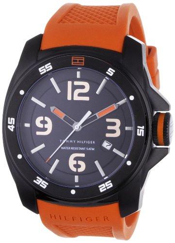 Tommy Hilfiger Windsurf 1790709 - Reloj de Caballero de Cuarzo, Correa de Caucho