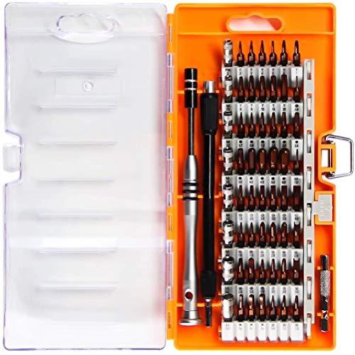 Juego de herramientas 60 en 1 de precisión, para smartphones, iPad, iPhone, tablets, ordenadores, portátiles, relojes y otros dispositivos electrónicos