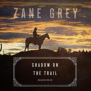 Shadow on the Trail audiobook cover art