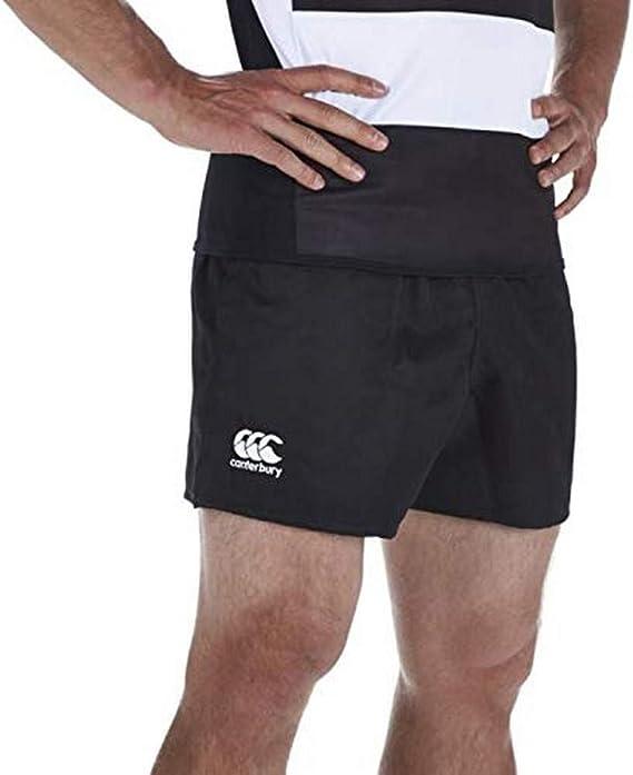 TALLA M. Canterbury - Pantalones Cortos de Rugby para Hombre