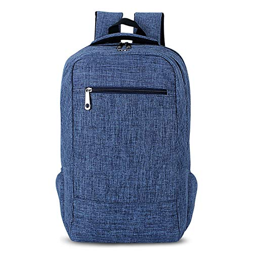 HUIFANGBU Universal Multi-Function Canvas Cloth Laptop Computer Shoulders Bag Business Backpack Students Bag, Size: 43x28x12cm, for 15.6 inch and Below MacBook, Samsung, Lenovo, Sony, DELL Alienware,