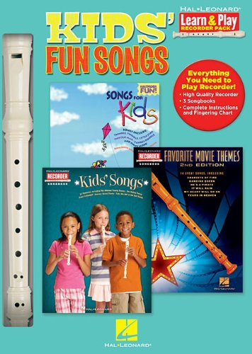 Kids' Fun Songs: Learn & Play Recorder Pack