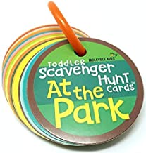Toddler Scavenger Hunt Cooperative Card Game at The Park