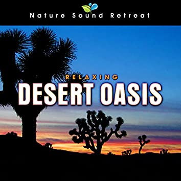 Relaxing Desert Oasis with Crickets and Wind for Peaceful Sleep