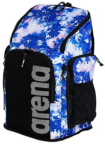 ARENA Bolsa Team Backpack 45 Allover Mochila, Adultos Unisex, Aliens (Multicolor), Talla Única