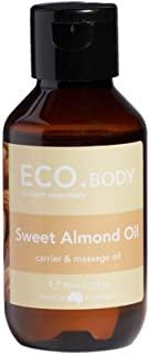 ECO. Modern Essentials Sweet Almond Carrier Oil 95 ml, 95 milliliters