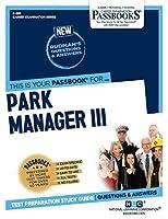 Park Manager III (Career Examination)