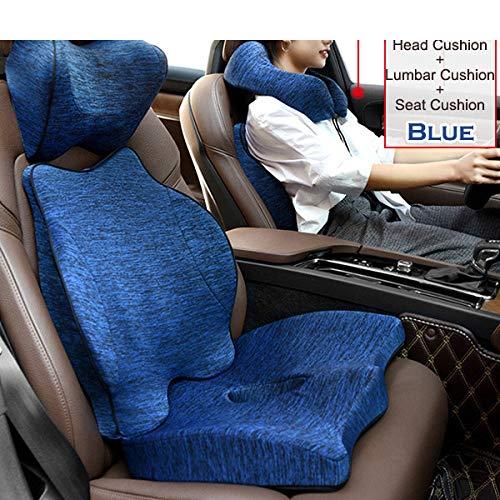 Cushions Cushions Car Seat Cushions, Memory Foam Orthopedic Pillows (for Office Car Seat Cushions) and Seat Cushions