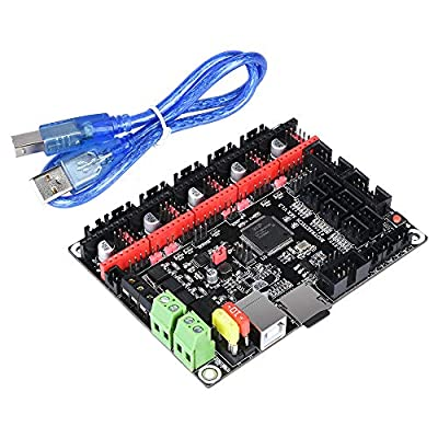BIGTREETECH SKR V1.3 32-bit Smoothieware Controller Panel for 3D Printer Compatible 12864LCD / Support A4988 / 8825 / TMC2208 / TMC2100 Driver with USB Cable