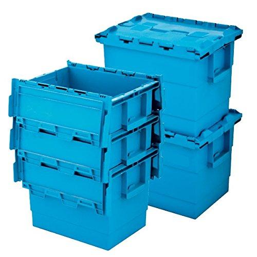 Propac Z-SAS403030 Contenitori in Plastica Inseribili e Sovrapponibili, 40 x 30 x 30 cm
