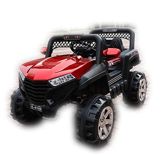 DUTUI Kinderauto Ferngesteuertes Spielzeugauto Kann in Größe Jungen Und Mädchen Allradantrieb Baby Allrad Offroad-Kinderwagen, 112X69x72cm Sitzen,2