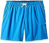 Speedo Men's Swim Trunk Knee Length Marina Volley, Classic Blue/White, X-Large