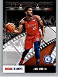 2019-20 NBA Hoops Lights Camera Action #27 Joel Embiid Philadelphia 76ers Official Panini Basketball Trading Card Retail Exclusive Insert